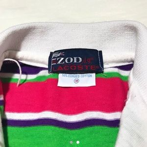 Izod Tops - IZOD / LACOSTE Cropped Polo Top Tee